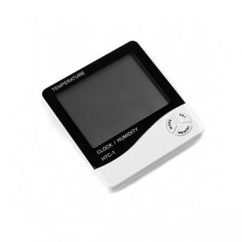 TERMÓMETRO-MEDIDOR DE HUMEDAD DIGITAL LCD
