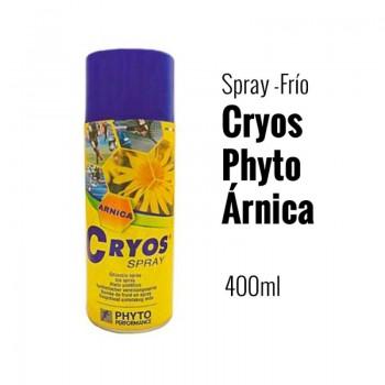HIELO EN SPRAY  FRIO CRYOS CON ARNICA  400 ML